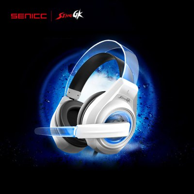 SENICC G241 Gaming Headsets LED Light