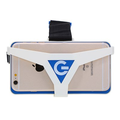 Virtual Reality 3D VR Glasses for 4.5 - 6 inch Smartphone