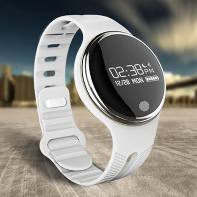 E07 IP67 Music Controlling Smart WristbandSmart Watches<br>E07 IP67 Music Controlling Smart Wristband<br><br>Bluetooth version: Bluetooth 4.0<br>Language: English,Simplified Chinese,Traditional Chinese<br>Waterproof: Yes<br>IP rating: IP67<br>Screen type: OLED<br>Operating mode: Press button<br>Compatible OS: Android,IOS<br>Compatability: Android 4.3 / iOS 7.0 and Above System<br>People: Male table<br>Available color: Black,White<br>Type of battery: Li-polymer Battery<br>Battery Capacty: 90mAh<br>Standby time: About 7 Days<br>Charging time: About 3hours<br>Functions: Alarm Clock,Avoid phone loss,Listen to music,Message,Notification of app,Pedometer,Remote music,Sedentary reminder,Sleep management,SMS Reminding<br>Notification type: Wechat<br>Alarm group: 4<br>Alert type: Vibration<br>Shape of the dial: Round<br>Case material: Stainless Steel<br>Band material: TPU<br>Dial size: 3.8 x 3.8 x 0.8 cm / 1.5 x 1.5 x 0.31 inches<br>Band size: 25 x 1.7 cm / 9.84 x 0.67 inches<br>Wearable length: 17 - 22 cm / 6.69 - 8.66 inches<br>Product weight: 0.025 kg<br>Package weight: 0.160 kg<br>Product size (L x W x H): 25.00 x 3.80 x 0.80 cm / 9.84 x 1.5 x 0.31 inches<br>Package size (L x W x H): 12.20 x 9.10 x 5.20 cm / 4.8 x 3.58 x 2.05 inches<br>Package Contents: 1 x E07 Wristband, 1 x USB Charging Head, 1 x Chinese and English User Manual