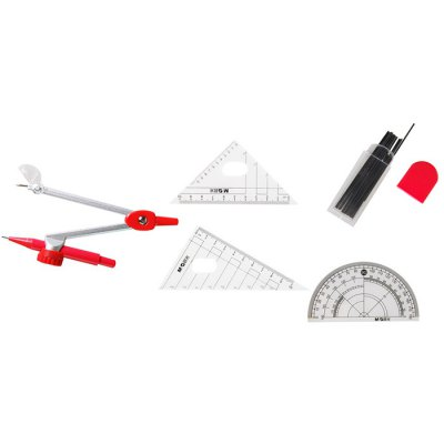 MG ChenGuang 7PCS ACS90823 Drawing Compass Geometry Tools for Students