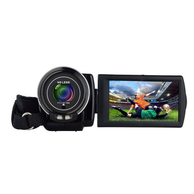 Ordro HDV - V7 3inch  LCD Digital Video Camera HD Camcorder DVCamcorders<br>Ordro HDV - V7 3inch  LCD Digital Video Camera HD Camcorder DV<br><br>Brand: Ordro<br>Pixel: &gt;1300w<br>Screen size (inch): 3<br>Touch screen: No<br>Memory support : SD card<br>Storage medium: Flash memory DV<br>External memory storage(Maximum, not included): SD card up to 32GB<br>Sensor size (inch): 1/3.2<br>Sensor: CMOS<br>Lens: 270 Degree<br>Image resolutions: 1920 x 1080 (2MP HD),2560 x 1920 (5MP),3264 x 2448 (8MP),4000 x 3000 (12MP),4608 x 3456(16MP),5200 x 3900 (20MP),5600 x 4200 (24MP)<br>Video Resolution: 1280 x 720,1920 x 1080,640 x 480<br>Digital zoom: 16X<br>HD video: 1920 x 1080<br>Function mode: Capture,Video<br>LED light: LED&lt;1.0M, Open / Close<br>Aperture: F/3.2, f=7.5mm<br>Focus Range: 150cm ~ infinitude<br>White Balance: Automatic,Cloudy,Florescent light,Sunlight,Tungsten light<br>Scenes: Auto<br>File format: AVI,JPEG<br>Image quality: Excellent<br>ISO: 100,200,400,Auto<br>Exposure Compensation: -3.0~3.0<br>Self-timer: 10s,2s,5s,Auto<br>TV System: NTSC,PAL<br>Microphone: Built-in<br>Loudspeaker: Built-in<br>Interface: HDMI port,SD Card Slot,TV output interface,USB interface<br>Other Functions: Face Detection<br>Auto power off: Yes<br>Power Sources: Li-ion battery NP-120<br>Product weight: 0.280 kg<br>Package weight: 0.670 kg<br>Product size (L x W x H): 4.10 x 6.80 x 11.10 cm / 1.61 x 2.68 x 4.37 inches<br>Package size (L x W x H): 8.00 x 12.00 x 18.00 cm / 3.15 x 4.72 x 7.09 inches<br>Package Contents: 1 x Ordro HDV - V7 Digital Video Camera, 1 x Battery, 1 x US Plug USB Chargar, 1 x USB Cable, 1 x TV Cable, 1 x HDMI Cable, 1 x Remote Controller, 1 x Storage Bag, 1 x English User Manual