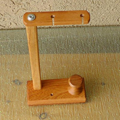 Merbau Solid Wood Holder Stand Support for Earphones