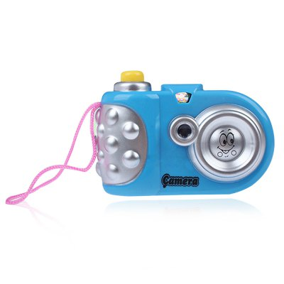 Simulation Projection Cartoon Camera with Flash Light Baby Learning Educational Toy