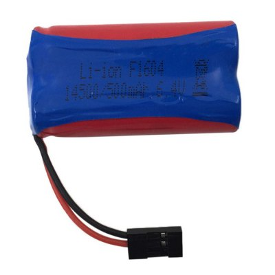 HBX 2098B 1 / 24 4WD Original 6.4V 500mAh Battery RC Car Spare PartRC Car Parts<br>HBX 2098B 1 / 24 4WD Original 6.4V 500mAh Battery RC Car Spare Part<br><br>Brand: HBX<br>Type: Battery<br>Product weight: 0.025 kg<br>Package weight: 0.040 kg<br>Package size (L x W x H): 8.00 x 3.00 x 2.00 cm / 3.15 x 1.18 x 0.79 inches<br>Package Contents: 1 x 6.4V 500mAh Battery