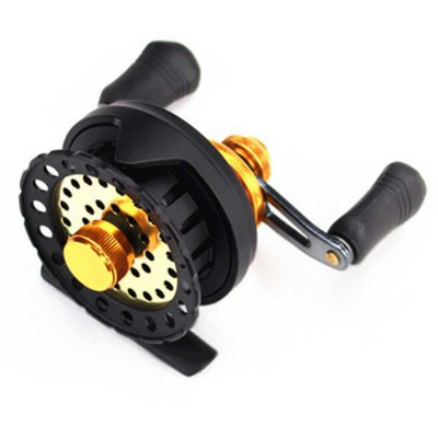DIAODELAI 60 7 Ball Bearings Fly Fishing Reel