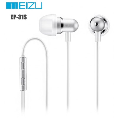 Original Meizu EP-31S Music In-ear Earphones with Drive-by-wire