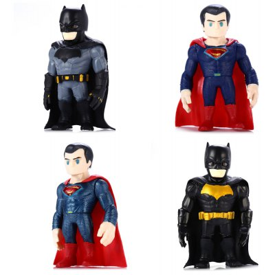 5.1 inch PVC Movie Figure Toy - 4Pcs / Set