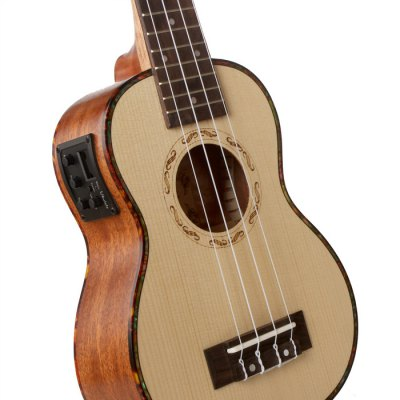 ZY - 13SEQ 24 inch Spruce Ukulele от GearBest.com INT