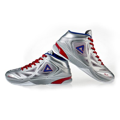 Peak E33323A Basketball Shoes TP9 ShockproofShoes<br>Peak E33323A Basketball Shoes TP9 Shockproof<br><br>Brand: PEAK<br>Model Number: E33323A<br>Type: Basketball Shoes<br>Features: Anti-slip,Breathable,Durable,Light weight,Shock-absorbing,Sweat-absorbing<br>Size: 40,41,42,43,44,45<br>Gender: Men<br>Season: Autumn,Spring,Summer,Winter<br>Sole Material: TPU<br>Highlights: Breathable,Sweat Absorbing<br>Color: Black,Gray,Red,White<br>Product weight: 1.400 kg<br>Package weight: 1.720 kg<br>Package size: 32.00 x 22.00 x 12.00 cm / 12.6 x 8.66 x 4.72 inches<br>Package Contents: 2 x Shoes