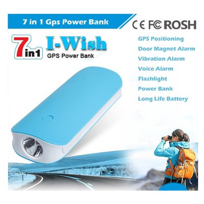 RF-V20 7 in 1 GPS TrackerOther Home Improvement<br>RF-V20 7 in 1 GPS Tracker<br><br>Battery: 4500mAh Battery<br>Color: Black,Blue,White<br>GPRS Standard: Class 12,TCP / IP<br>GPS Positioning Accuracy: 10 - 15m<br>GSM Network: 1800MHz,1900MHz,850MHz,900MHz<br>Package Contents: 1 x Tracker, 1 x USB Cable, 1 x Magnet Box, 1 x Holder, 1 x Bilingual Manual in English and Chinese<br>Package size (L x W x H): 15.00 x 10.00 x 6.00 cm / 5.91 x 3.94 x 2.36 inches<br>Package weight: 0.310 kg<br>Product size (L x W x H): 12.20 x 5.10 x 2.50 cm / 4.8 x 2.01 x 0.98 inches<br>Product weight: 0.130 kg<br>Working Humidity: 5 Percent - 95 Percent<br>Working Temperature: -20 - 70 Degree