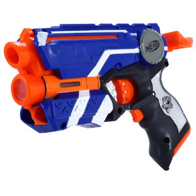 Nerf N-Strike Elite 20m Range Safe Gun Kid игры Toy 6Pcs Пена Dart