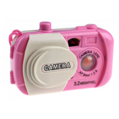 Simulation Camera with Cartoon Animal Picture Inside Birthday Gift