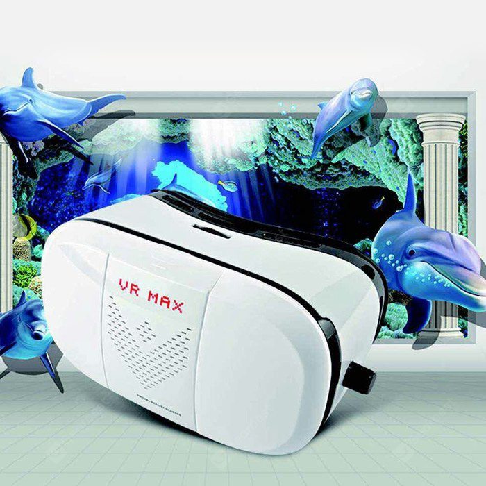 VR MAX 3D Virtual Reality Glasses Lightweight for Smartphones 177375201
