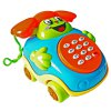 Baby Cartoon Musical Phone Educational Toy with Rotatable Wheel
