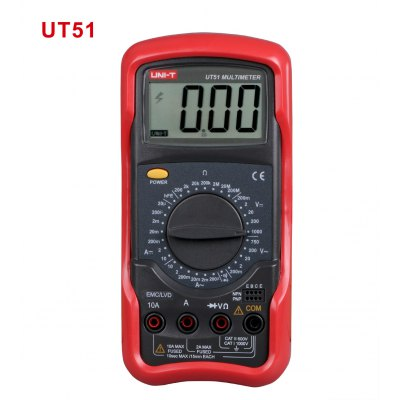 UNI-T UT51 Universal LCD Digital Multimeter
