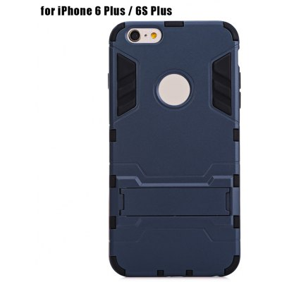 Warrior Armour Style Protective Back Case for iPhone 6 Plus / 6S Plus