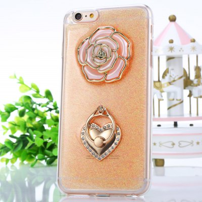 Rose Pattern Protective Back Cover Case for iPhone 6 Plus / 6S Plus