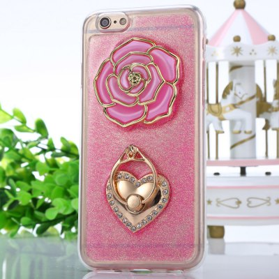 Rose Pattern Protective Back Cover Case for iPhone 6 / 6S
