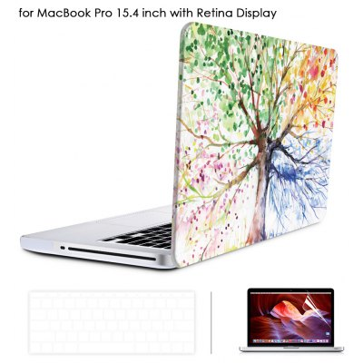 Oil Painting Style Protective Hard Case for MacBook Pro 15.4 inch with Retina Display