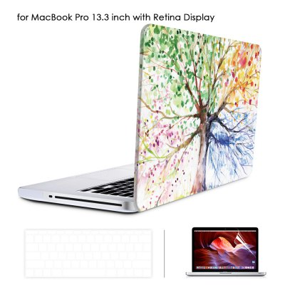 Oil Painting Style Protective Hard Case for MacBook Pro 13.3 inch with Retina Display