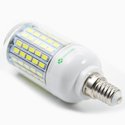 6PCS Sencart 1500LM E14 15W 96 x SMD5730 LED Corn BulbCorn Bulbs<br>6PCS Sencart 1500LM E14 15W 96 x SMD5730 LED Corn Bulb<br><br>Available Light Color: Warm White,White<br>Brand: Sencart<br>CCT/Wavelength: 3000-3500K,6000-6500K<br>Emitter Types: SMD 5730<br>Features: Long Life Expectancy, Energy Saving<br>Function: Studio and Exhibition Lighting, Commercial Lighting, Outdoor Lighting<br>Holder: E14<br>Luminous Flux: 1500Lm<br>Output Power: 15W<br>Package Contents: 6 x Sencart LED Corn Light<br>Package size (L x W x H): 12.40 x 8.60 x 12.00 cm / 4.88 x 3.39 x 4.72 inches<br>Package weight: 0.278 kg<br>Product size (L x W x H): 3.80 x 3.80 x 11.00 cm / 1.5 x 1.5 x 4.33 inches<br>Product weight: 0.043 kg<br>Sheathing Material: ABS<br>Total Emitters: 96<br>Type: Corn Bulbs<br>Voltage (V): AC 110-120,AC 220-240