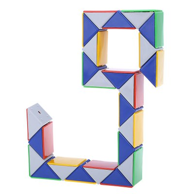 3D Magic Snake Puzzle Game Cube ToyOther Educational Toys<br>3D Magic Snake Puzzle Game Cube Toy<br><br>Age: Above 3 year-old<br>Difficulty: Ruler<br>Material: Plastic<br>Package Contents: 1 x Magic Cube<br>Package size (L x W x H): 9.00 x 6.00 x 2.00 cm / 3.54 x 2.36 x 0.79 inches<br>Package weight: 0.055 kg<br>Product weight: 0.030 kg<br>Type: Intelligence toys, Magic Cubes