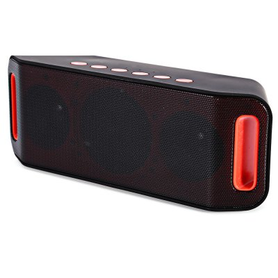 S204 Wireless Bluetooth 3.0 + EDR SpeakerSpeakers<br>S204 Wireless Bluetooth 3.0 + EDR Speaker<br><br>Model: S204<br>Design: Portable<br>Compatible with: iPhone,iPod,Laptop,Mobile phone,MP3,MP4,MP5,PC,Tablet PC<br>Supports: Bluetooth,Hands-free Calls,TF Card Music Playing,Volume Control<br>Connection: Wireless<br>Interface: Micro USB,TF Card Slot,USB2.0<br>Audio Source: Bluetooth Enabled Devices<br>Material: ABS,Electronic Components<br>Color: Black<br>Bluetooth Version: V3.0+EDR<br>Battery Capacity: 350mAh<br>Charging Time: 3 to 4 Hours<br>Lasting Time: 5 to 8 Hours<br>Product weight: 0.465 kg<br>Package weight: 0.540 kg<br>Product size (L x W x H): 19.00 x 7.00 x 6.00 cm / 7.48 x 2.76 x 2.36 inches<br>Package size (L x W x H): 20.00 x 7.00 x 10.00 cm / 7.87 x 2.76 x 3.94 inches<br>Package Contents: 1 x S204 Wireless Bluetooth 3.0 + EDR Speaker, 1 x USB Cable, 1 x Audio Cable