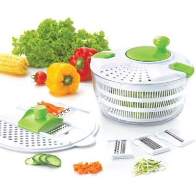 Grater Slicer Stainless Steel Vegetable Potato Shredder Carrot Cutter Cooking Tool Double-Headed Helical Type Vegetable