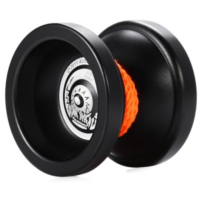 DECAKER Durable Alloy YO-YO Black Malignancy Toy Cool Gift for Kids