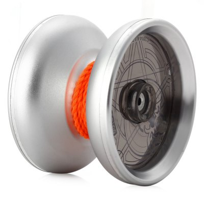 DECAKER Durable Alloy YO-YO Silvery Mars Toy Cool Gift for Kids