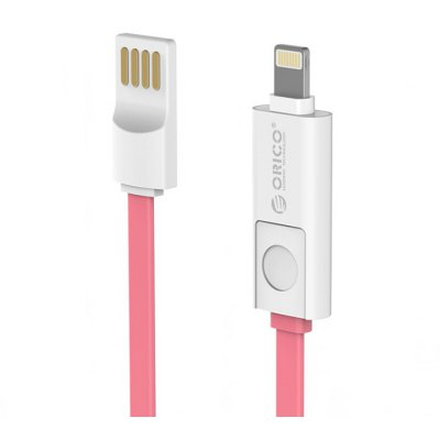 ORICO 2 in 1 8 Pin Micro USB Charging and Data Sync Cable 1m