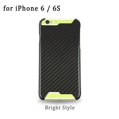 Grid Pattern Carbon Phone Back Case Protector for iPhone 6 / 6S