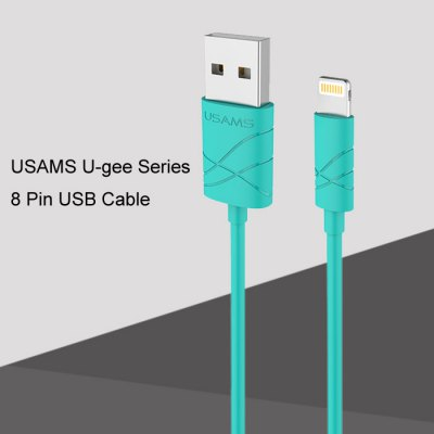 USAMS U - gee Series US SJ038 1m 8 Pin USB Data Charge Sync Cable