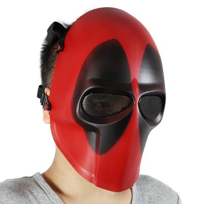 Zujizhe ZJZ01 Tactical Full Face Mask for Cosplay Outdoor Games