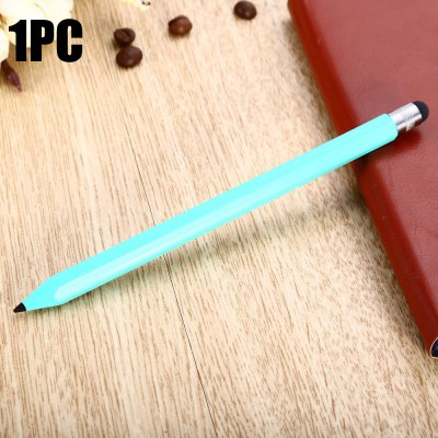 YQ07 2 in 1 Plastic Hexagonal Pencil Phone Screen Stylus Touch Pen