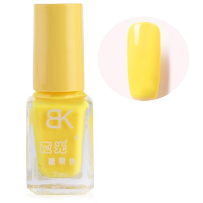 7ml Glow In Dark Noctilucent Fluorescent Nail Polish