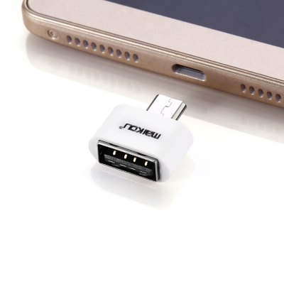Maikou MK-205 USB 2.0 to Micro USB ConnectorCables &amp; Connectors<br>Maikou MK-205 USB 2.0 to Micro USB Connector<br><br>Available Color: White<br>Interface: USB 2.0, Micro USB<br>Model: MK-205<br>Package Contents: 1 x Maikou MK-205 USB 2.0 to Micro USB Connector<br>Package size (L x W x H): 14.00 x 8.00 x 1.50 cm / 5.51 x 3.15 x 0.59 inches<br>Package weight: 0.0230 kg<br>Product size (L x W x H): 1.80 x 1.30 x 0.50 cm / 0.71 x 0.51 x 0.2 inches<br>Product weight: 0.0020 kg<br>Type: Connector