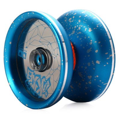 DECAKER Durable Alloy YO-YO Blue Ice and Fire Toy Cool Gift for Kids
