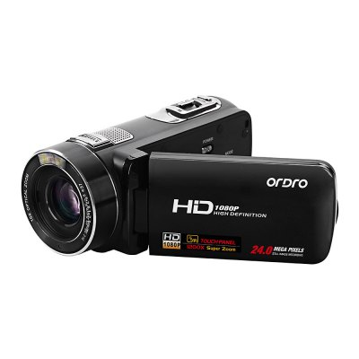 ORDRO Z80 3inch LCD Digital Video Camera Touch Screen FHD Camcorder DV