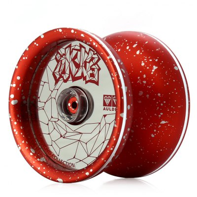DECAKER Durable Alloy YO-YO Red Ice and Fire Toy Cool Gift for Kids