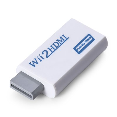 Wii to HDMI 720P/1080P + 3.5mm Audio Wii2HDMI Converter Adapter