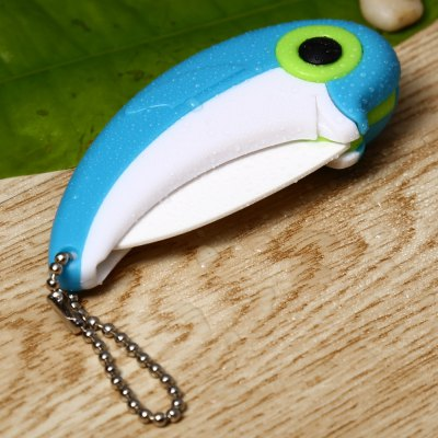 Dolphin Style Folding Knife with Portable Chain