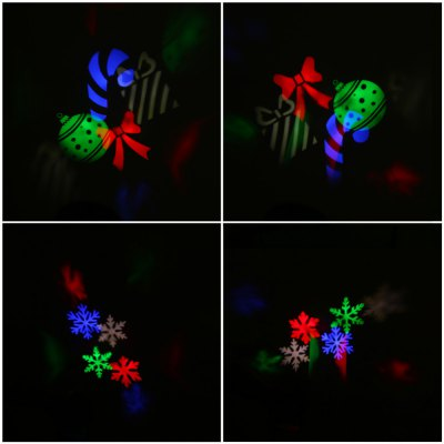 E660 Colorful Patterns LED RGB Stage Light Gobo Projection