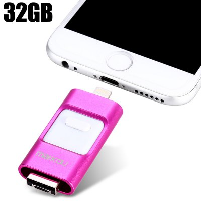 Maikou MK-258 3 in 1 Retractable 32GB USB 2.0 Flash Drive