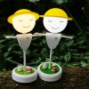 best Team Work Scarecrow LED Night Light with Totoro Microlandschaft