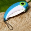cheap Dolphin Style Ceramic Folding Knife with Portable Chain