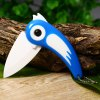 Bird Style Folding Knife with Portable Chain