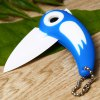 Bird Style Folding Knife with Portable Chain for sale