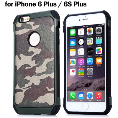 Camouflage Style Phone Back Case Protector for iPhone 6 Plus / 6S Plus