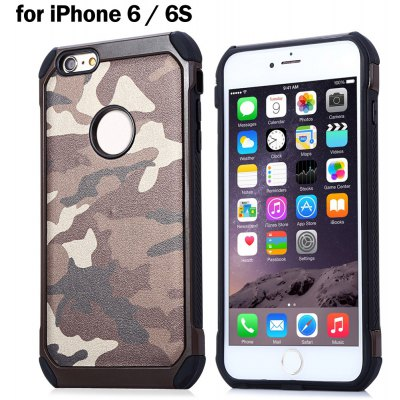 Camouflage Style Phone Back Case Protector for iPhone 6 / 6S
